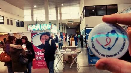 La actividad, desarrollada el lunes 28 y martes 29, estuvo impulsada por el Programa Nacional de Hepatitis Virales (PNHV) del Ministerio de Salud de la Nación y Trenes Argentinos Operadora Ferroviaria, y contó con la colaboración de la Red Argentina de Mujeres con VIH-sida, la Red Argentina de Jóvenes Positivos, la Red Bonaerense de Personas viviendo con VIH-sida y la fundación HCV sin fronteras.