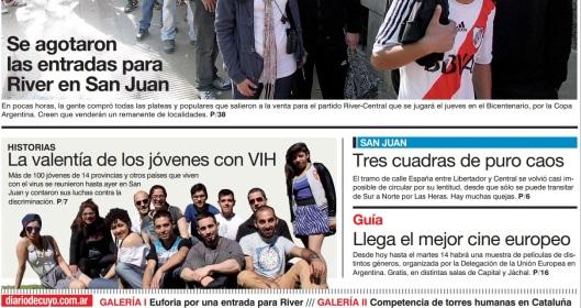diario Cuyo octubre 2014