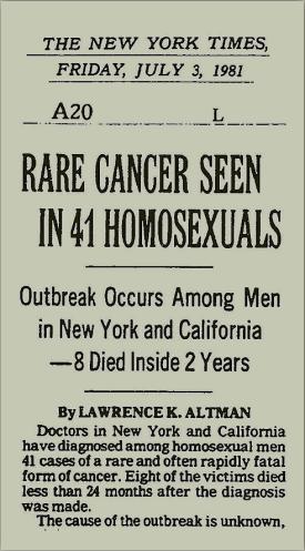 Un raro cáncer ha aparecido.
